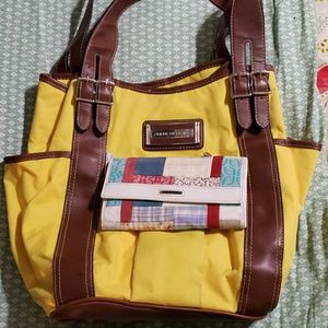 American Living bag with free Fossil wallet